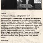 Noirish Project: Berlin Screening Details