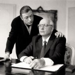 Otto Sander & Mikhail Gorbachev. Far Away So Close (Wim Wenders, 1993). Nominated by @broomfieldhill.